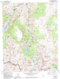 Dma Map Mount Thompson Topographic Map Ca Usgs Topo Quad 37118b5