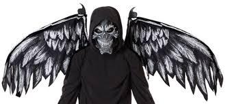 Fallen Angel Halloween Costume Fallen Angel Mask Wings Costumes