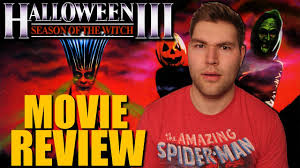 halloween iii season of the witch movie review youtube