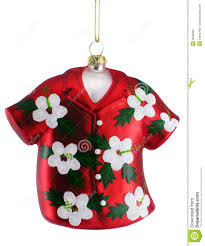 hawaiian shirt ornament royalty free stock photo image