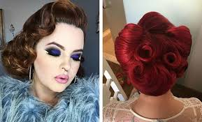 pinup clip in ponytail with bangs 21 pin up hairstyles that are hot right now stayglam