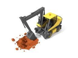 excavator by andrejs kirma