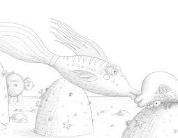 pout pout fish project awesome pout pout fish coloring page at