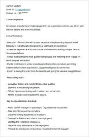 latest resume format for hr executive roles sle resume template for hr executive hiring manager resume