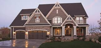 new home exterior color schemes two tone exteriors parade of