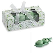 Two Peas In A Pod Ornament Kate Aspen Two Peas In A Pod Ceramic Salt U0026 Pepper Shakers In Ivy