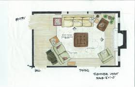 Impression Of  Family Room Layout Planner Best  House And - Family room layout