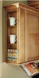 Adding Extra Storage Space To The End Of Your Wall Cabinets By - Wall cabinet kitchen