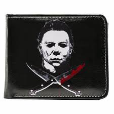 rock rebel michael myers cross knives halloween scary movie mens
