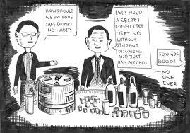 cartoon no alcohol stanford u0027s alcohol policy a great mistake el estoque