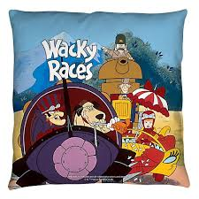 Home Goods Decorative Pillows by Wacky Races Throw Pillow Home Goods