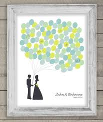 wedding register book canvas guestbook thumbprint tree on wrapped canvas by taylorsomae