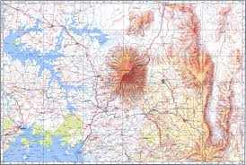 Topography Map топографические карты Military Topographic Map