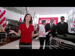toyota commercial actress australia zoe chatswood toyota means business tv advert commercial youtube