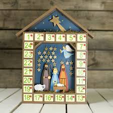 nativity advent calendar wooden nativity advent calendar christmas advent