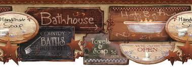 wall borders primitive home decor and more llc