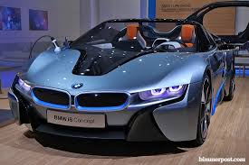 bmw concept i8 bmw i8 roadster wins north american concept car of the year award