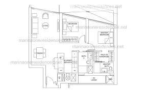 marina one residences floor plan