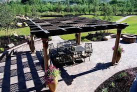 Span Tables For Pergolas by Construction Glossary Timber Frame Arbor Pavilion Pergola
