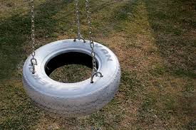 how to make a diy swing from an old tire and chain 13 steps