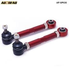 mitsubishi evo 8 red epman adjustable lower control toe arm for mitsubishi lancer evo 8