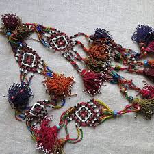 tribal beaded silk tassels and accessories product categories