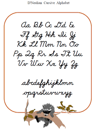 letters alphabetical cursive letters free math worksheets for