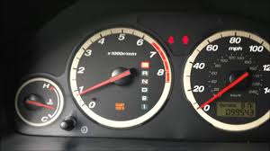 honda crv warning lights maintenance required reset honda cr v youtube