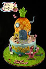 spongebob birthday cake spongebob birthday cake decorations spongebob cake decorations