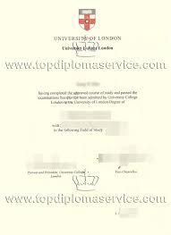 university of london university college london degree certificate