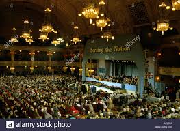 conservative tory party conference at the winter gardens blackpool