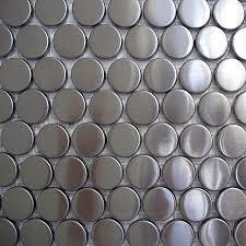 metal tiles for kitchen backsplash metal mosaics tile metal tile dttiles