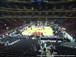 United Center Floor Plan United Center Section 115 Seat Views Seatgeek
