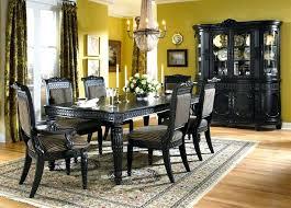 black dining room sets wood dining room table eitm2016