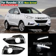 led daytime running light for hyundai ix35 tucson drl fog 2009
