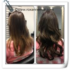 Before After Hair Extensions by Hair Extensions Before And After Toronto Canada Extension Blog