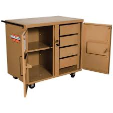 Wood Tool Storage Cabinets Knaack Tool Chests Tool Storage The Home Depot
