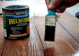 Minwax Water Based Stain With Minwax Water Based Wood Stain After by Staining And Finishing Tabletops Ana White Woodworking Projects