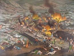 the great conemaugh valley disaster flood amp fire at johnstown pa