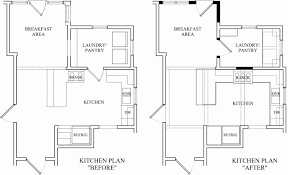 Kitchen Remodel Floor Plans by Small Carpenters At Large