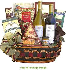 wine baskets the beringer wine gift basket