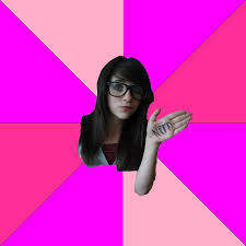 Memes For Girls - idiot nerd girl know your meme