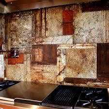 tin tile backsplash decorative wall tiles decor home depot