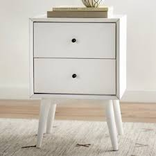 white nightstands you u0027ll love wayfair