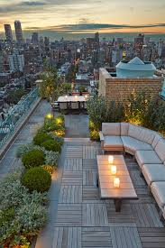 Chicago Patio Design by Chicago Modern House Design Amazing Rooftop Patio River Rocks