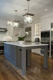 Kitchen Island With Attached Table Extending Kitchen Table Foter