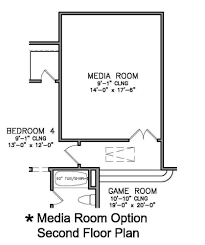Media Room Floor Plans Barcelona Dallas Fort Worth Tx Home Builders Megatel Homes