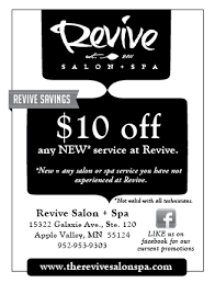 revive salon and spa apple valley mn