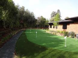 kentfield tiered putting green