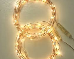16 5 foot 5m 100 lights string lights on a copper